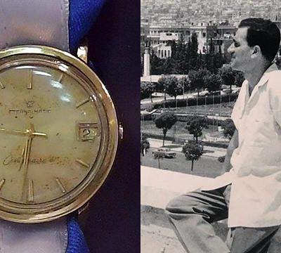 Israel Secret Service the Mossad Brings Home Watch of Israeli Spy Eli Cohen Executed in Syria 1965, Michael Harris MAJOR (RET.) IDF