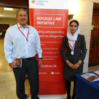 Participating and presenting at The University of London, Refugee Law Initiative (RLI), Annual Conference, Michael Harris PhD