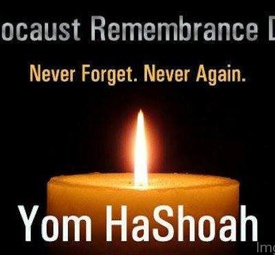 Israel Holocaust Remembrance Day,  impacted by Covid-19, Remembering the 6 Million Jews killed by Nazi Germany during World War 2.