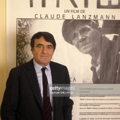 "We remember with respect and admiration French Director Claude Lanzmann ז""ל, His ""masterpiece ""Shoah"", bore unflinching witness to the Holocaust שואה"