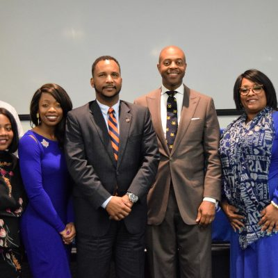 The College of Public Service (CPS) Tennessee State University held its second annual Public Service Tigers Come Home, Initiated by Dean Michael Harris
